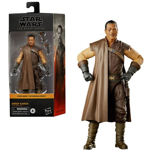 Star Wars The Black Series Greef Karga 6-Inch Action Figure
