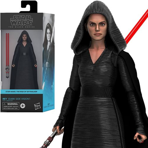 Star Wars Black Series Rey Dark Side Vision Action Figure