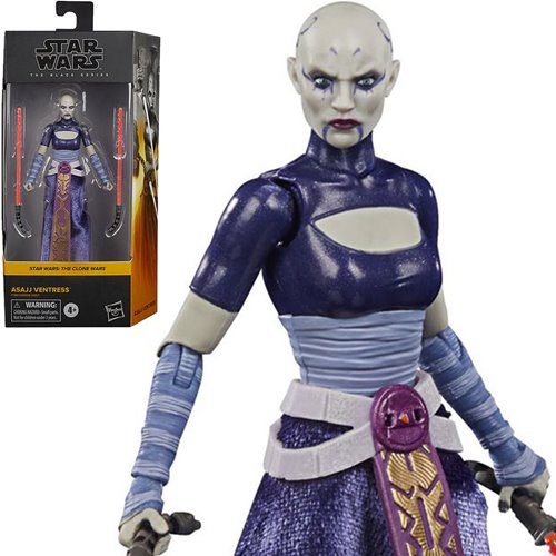 Star Wars Black Series Asajj Ventress 6-Inch Action Figure
