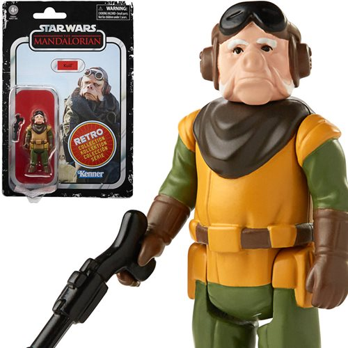 Star Wars The Retro Collection Kuiil Action Figure