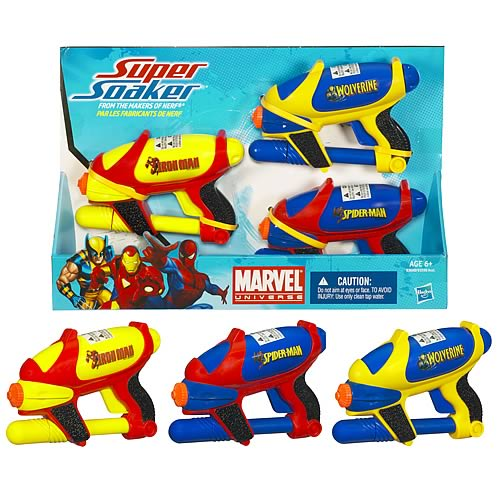 Super Soaker Marvel Water Blaster  3-Pack