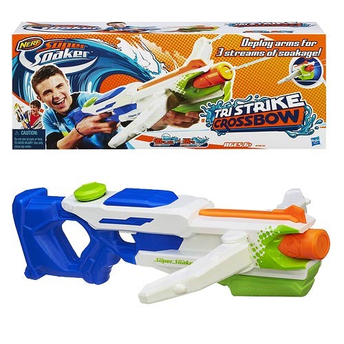 Nerf Super Soaker Tri Strike Crossbow Blaster