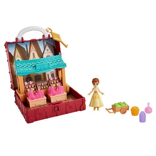 Frozen 2 Small Doll and Friends Potion Shop Scene Set