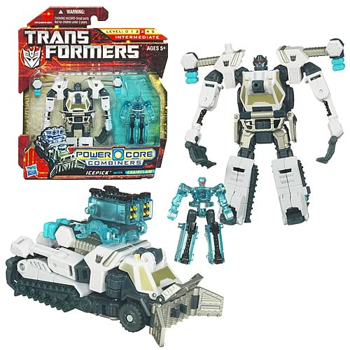 Transformers Power Core Combiners Icepick with Chainclaw