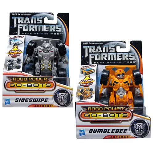 Transformers Dark of the Moon Robo Power Go-Bots Wave 1
