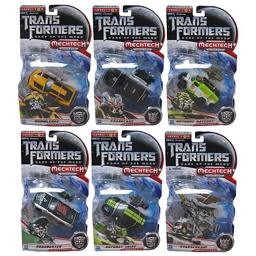 Transformers DOTM Mechtech Deluxe Action Figures Wave 1