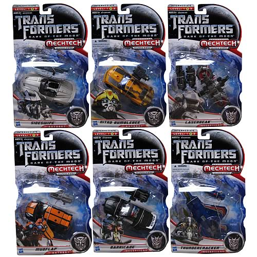 Transformers DOTM Mechtech Deluxe Action Figures Wave 3