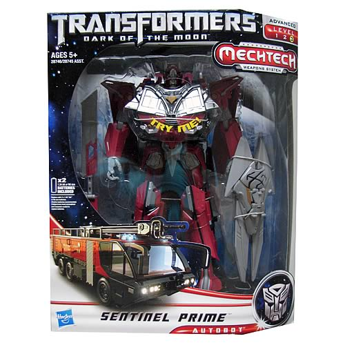 Transformers Dark of the Moon Mechtech Leader Sentinel Prime