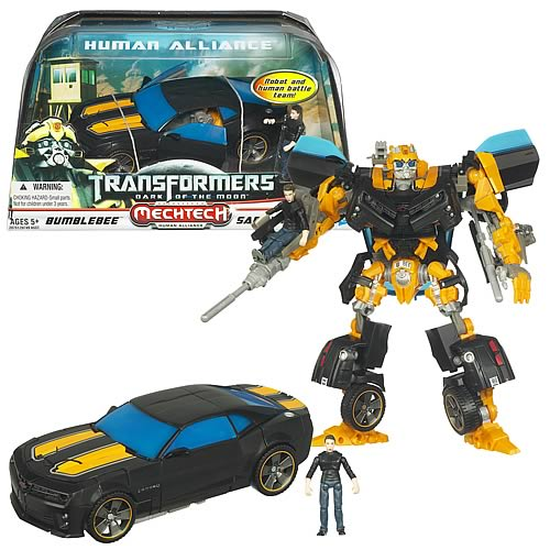 Transformers DOTM Human Alliance Bumblebee with Sam Witwicky