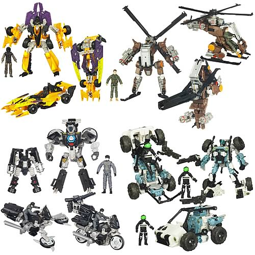Transformers Dark of the Moon Human Alliance Basic Wv 3 Set