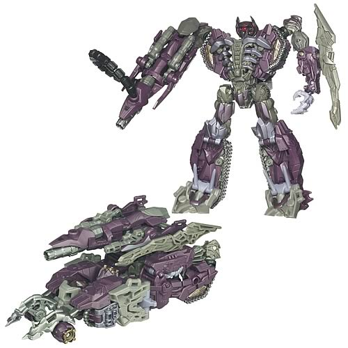 Transformers Dark of the Moon Voyager Shockwave