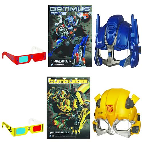 Transformers Dark of the Moon 3-D Cine-Masks Set