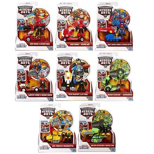 Transformers Rescue Bots Figures Wave 2