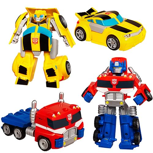 Transformers Rescue Bots Bumblebee and Optimus Prime Set