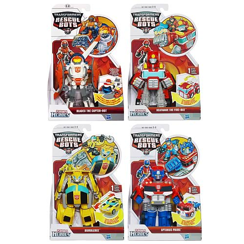 Transformers Rescue Bots Transforming Figures Wave 2 Rev. 1