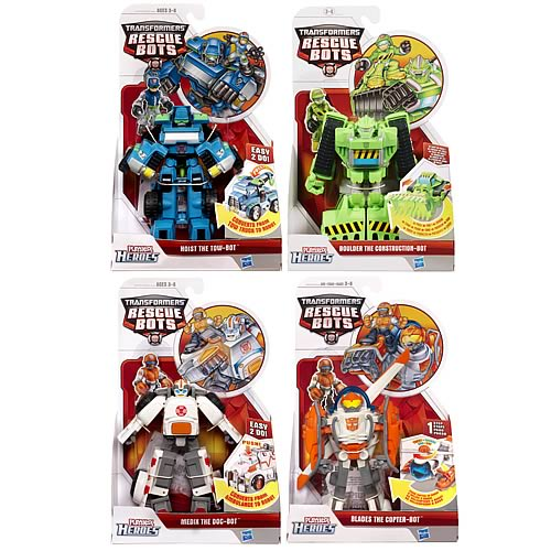 Transformers Rescue Bots Transforming Figures Wave 4