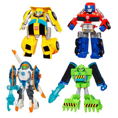Transformers Rescue Bots Transforming Figures Wave 6