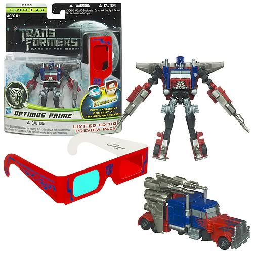 Transformers Dark of the Moon Cyberverse Optimus Prime