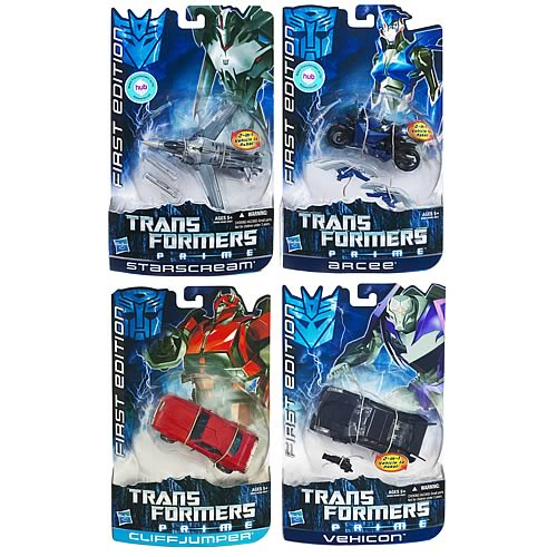 Transformers Prime First Edition Deluxe Wave 3