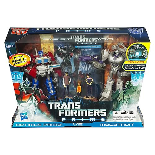 Transformers Prime Optimus Prime vs. Megatron Gift Set