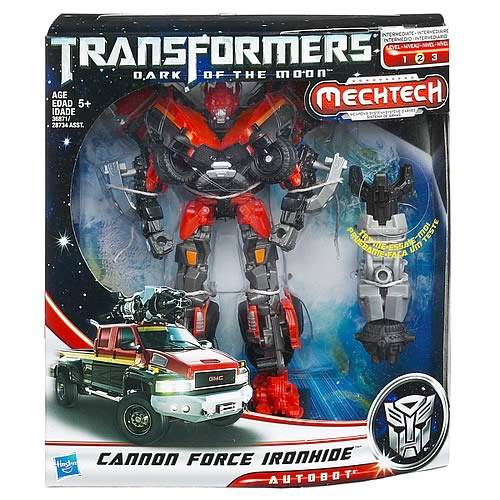 Transformers Dark of the Moon Voyager Cannon Force Ironhide