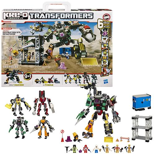 Kre-O Transformers Destruction Site Devastator