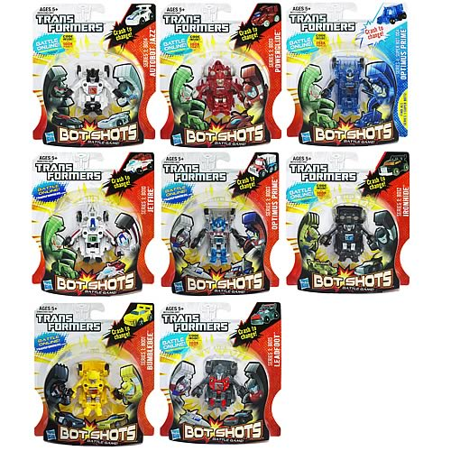 Transformers Bot Shots Transforming Mini-Figures Wave 4