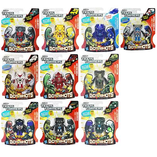 Transformers Bot Shots Transforming Mini-Figures Wave 5
