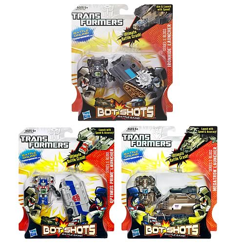 Transformers Bot Shots Deluxe Mini-Figure Launchers Wave 2