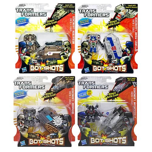 Transformers Bot Shots Deluxe Mini-Figure Launchers Wave 3