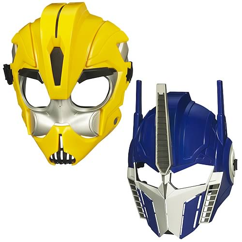 Transformers Prime Battle Masks Set