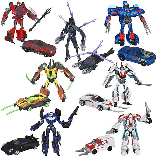 Transformers Prime Deluxe Figures Wave 4 Revision 1