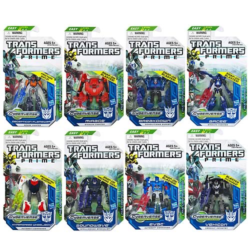 Transformers Prime Cyberverse  Legion Wave 4 Revision 1