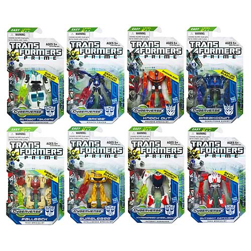 Transformers Prime Cyberverse  Legion Wave 4 Revision 2