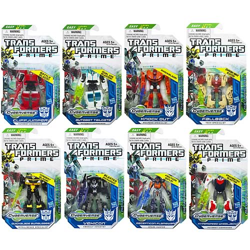 Transformers Prime Cyberverse  Legion Wave 4 Revision 3