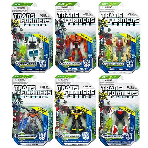 Transformers Prime Cyberverse  Legion Wave 4