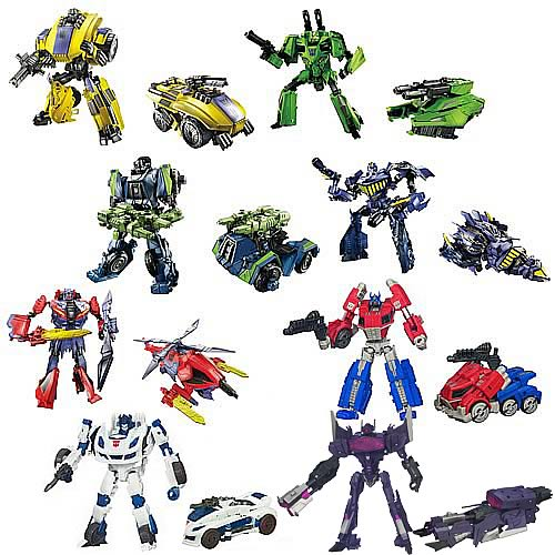 Transformers Generations Deluxe Figures Wave 2 Revision 1