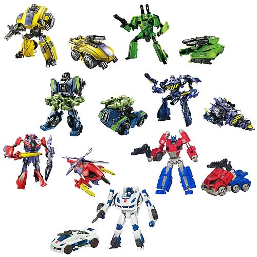 Transformers Generations Deluxe Figures Wave 2