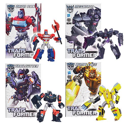Transformers Generations Deluxe Figures Wave 5 Set