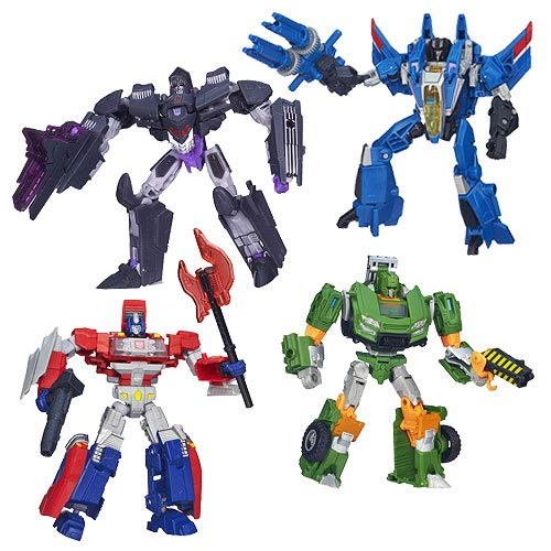 Transformers Generations Deluxe Figures Wave 6 Set