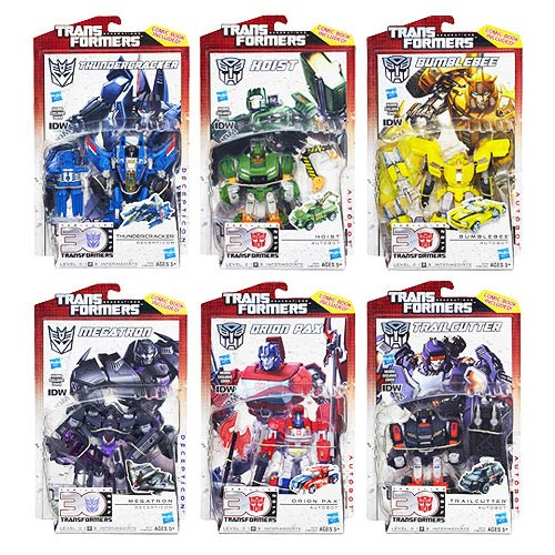 Transformers Generations Deluxe Figures Wave 6 Revision 2
