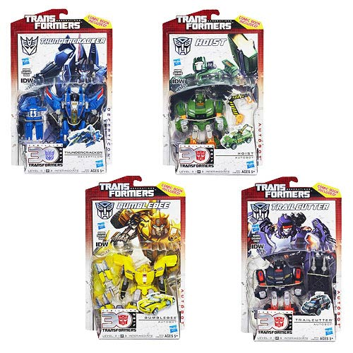 Transformers Generations Deluxe Figures Wave 6 Rev. 3 Set