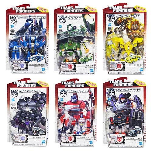 Transformers Generations Deluxe Figures Wave 6