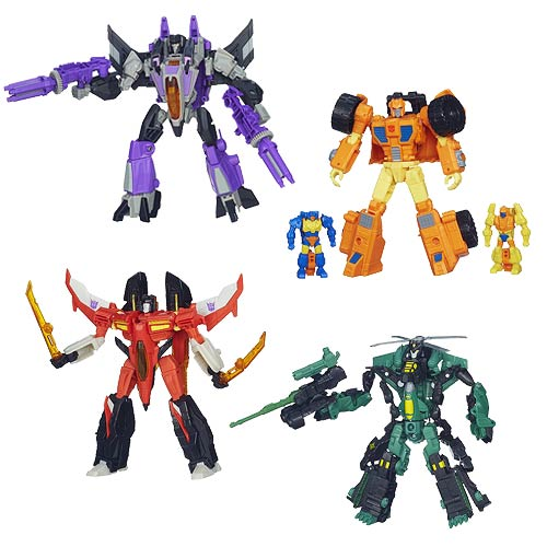 Transformers Generations Deluxe Figures Wave 8 Set