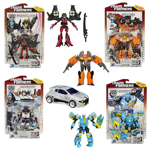 Transformers Generations Deluxe Figures Wave 10 Set
