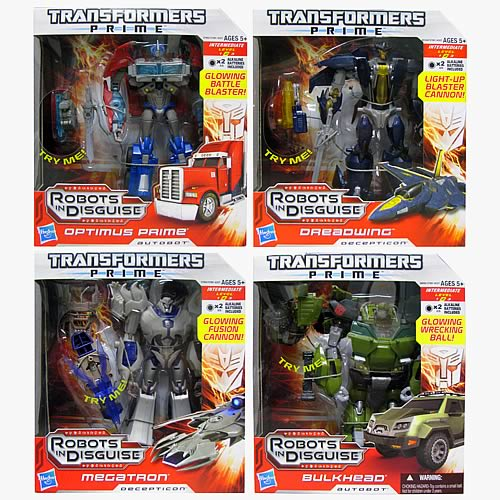 Transformers Prime Voyager Figures Wave 2 Revision 1