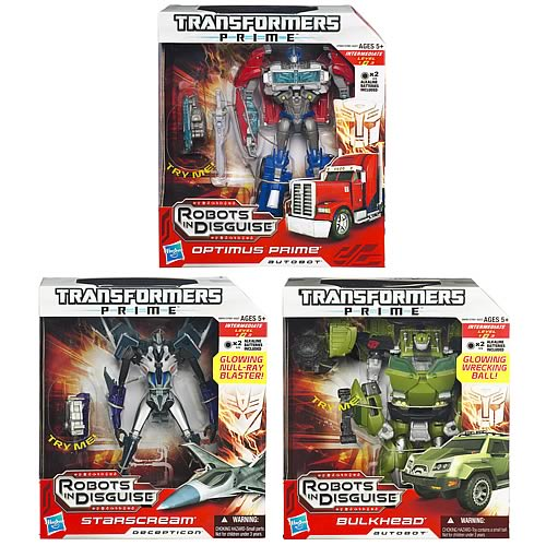 Transformers Prime Voyager Figures Wave 2