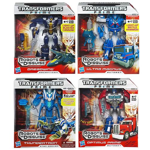 Transformers Prime Voyager Figures Wave 4 Revision 1