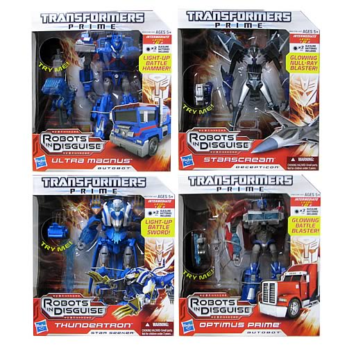 Transformers Prime Voyager Figures Wave 4