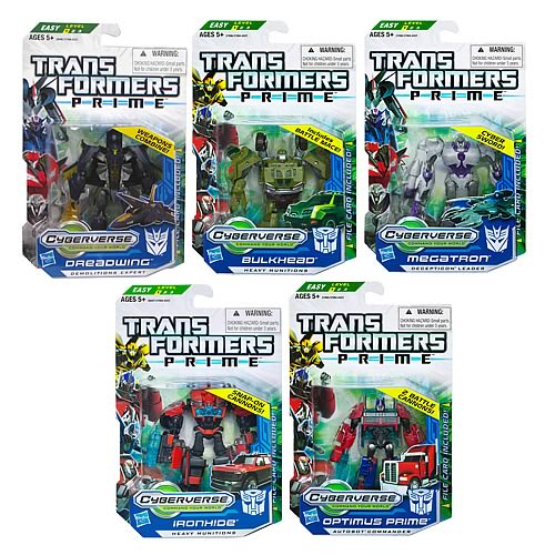 Transformers Prime Cyberverse  Commander Wave 2